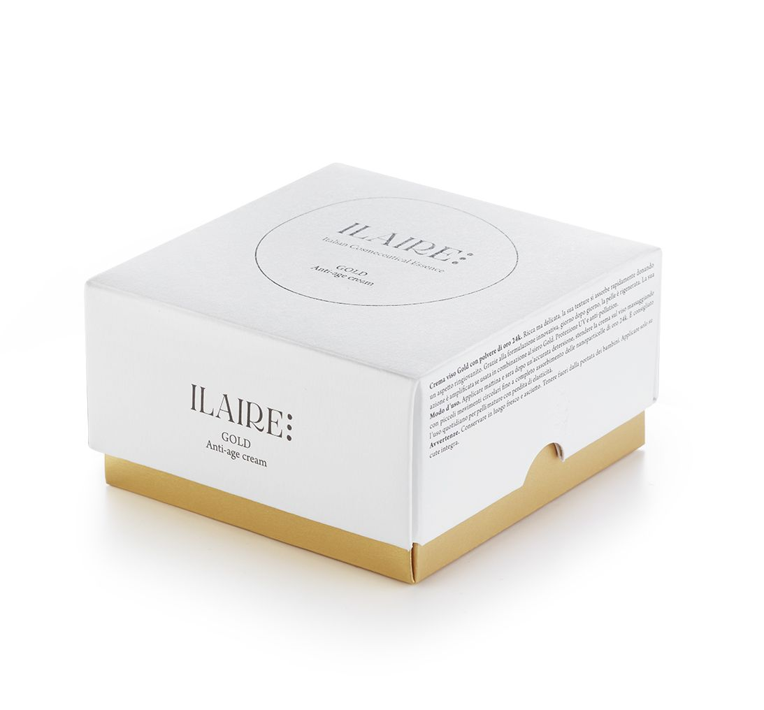 ILAIRE STILLLIFE Linea Gold Cream Pack